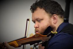 Violinist Alexis Bottoms