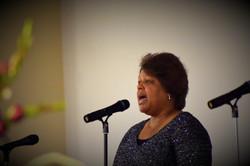 Psalmist Karen Mitcham