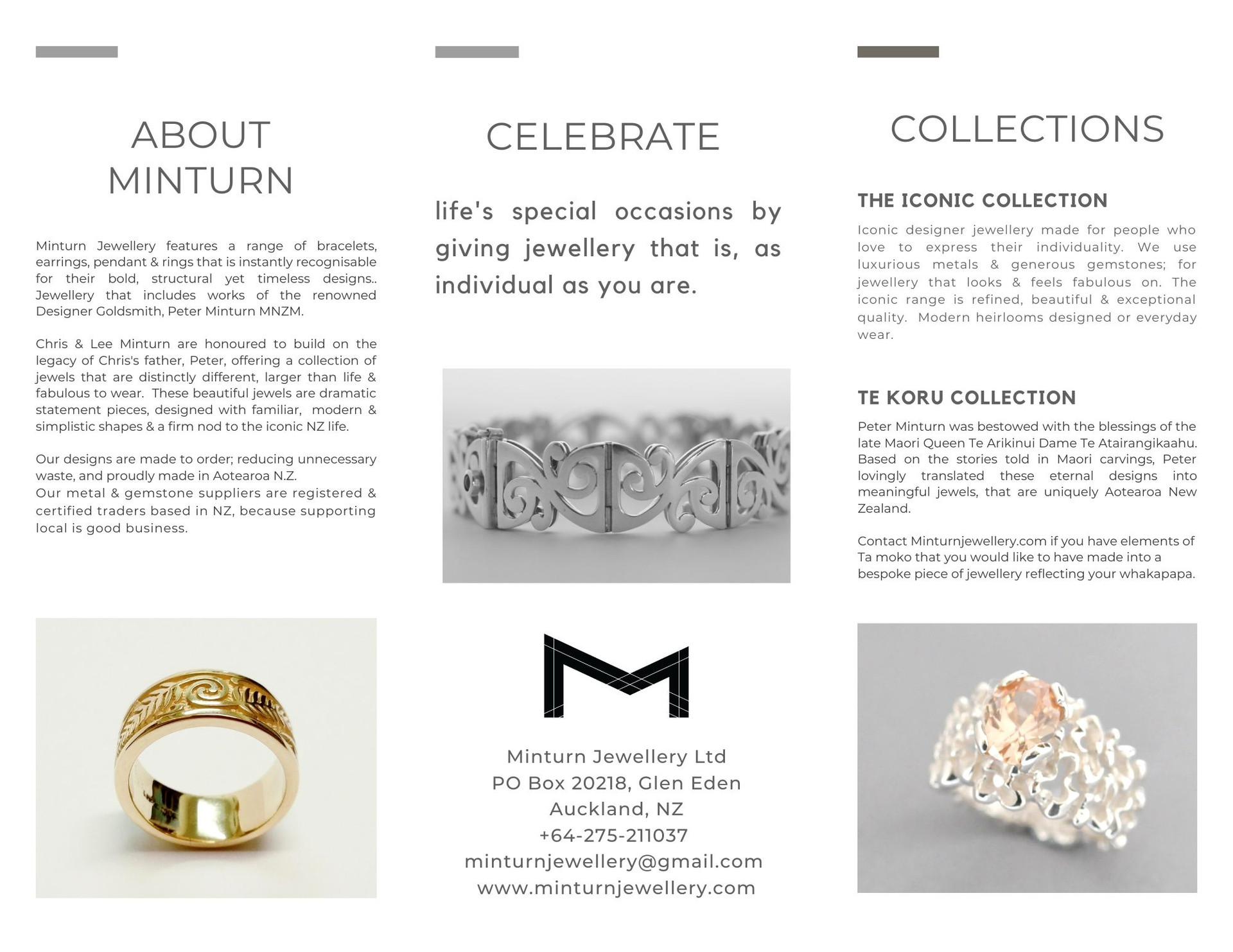 About Minturn Jewellery