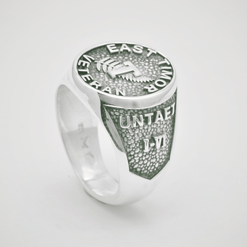 UNTAET EastTimor Veteran Military Ring