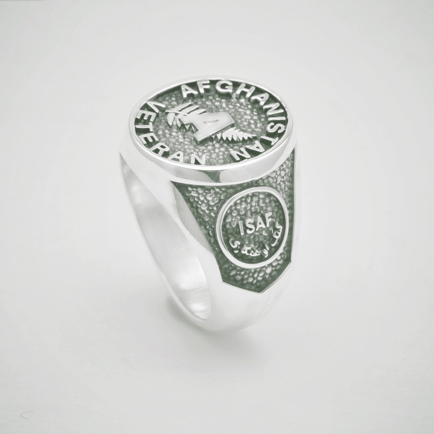 Afghanistan Veteran Military Ring