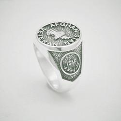 Afghanistan Veteran Military Ring
