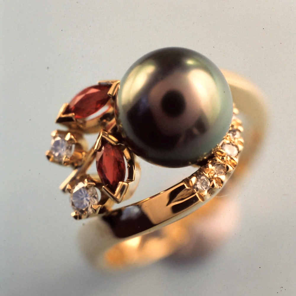 "Pearl rings are intended for ""high day and holiday"" wear only."