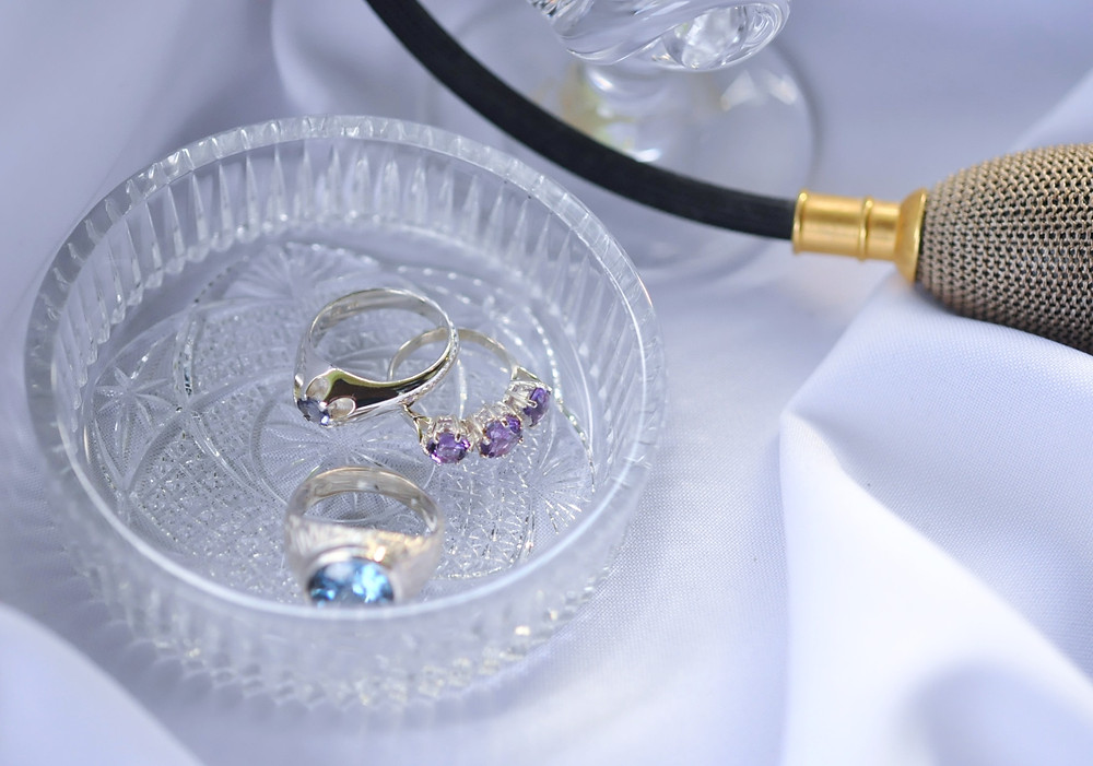 When you not wearing your jewellery, create a favourite place to put them in or better still, store each item away in its own jewellery bag.