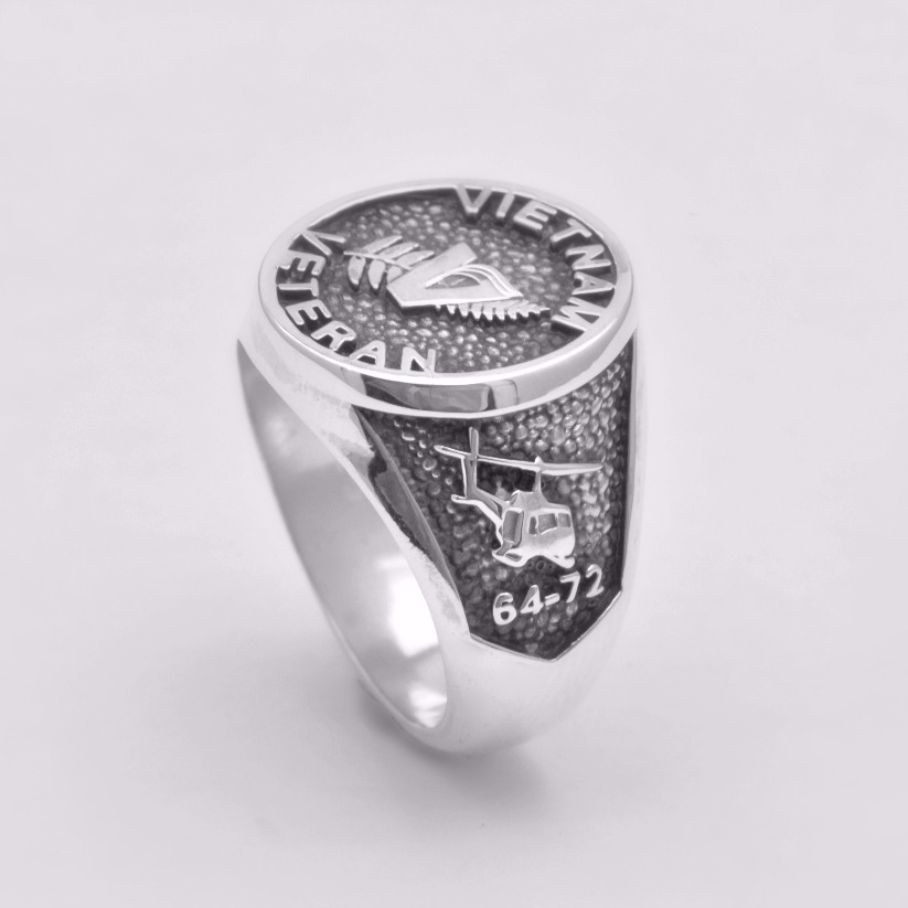 Vietnam Veteran Military Ring