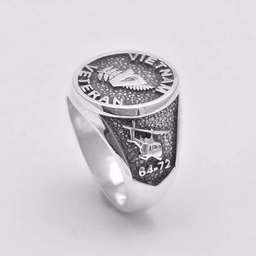 Vietnam Veteran Military Ring