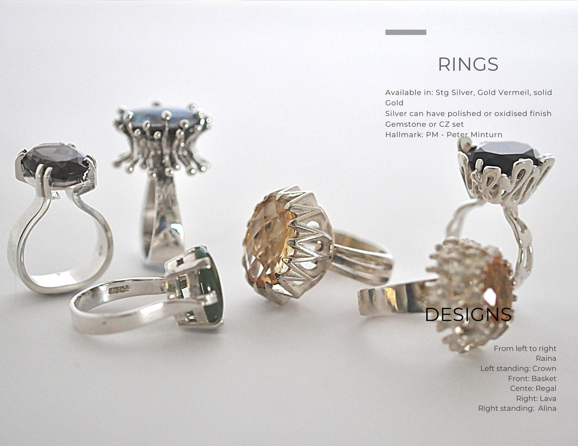Large Dress Rings