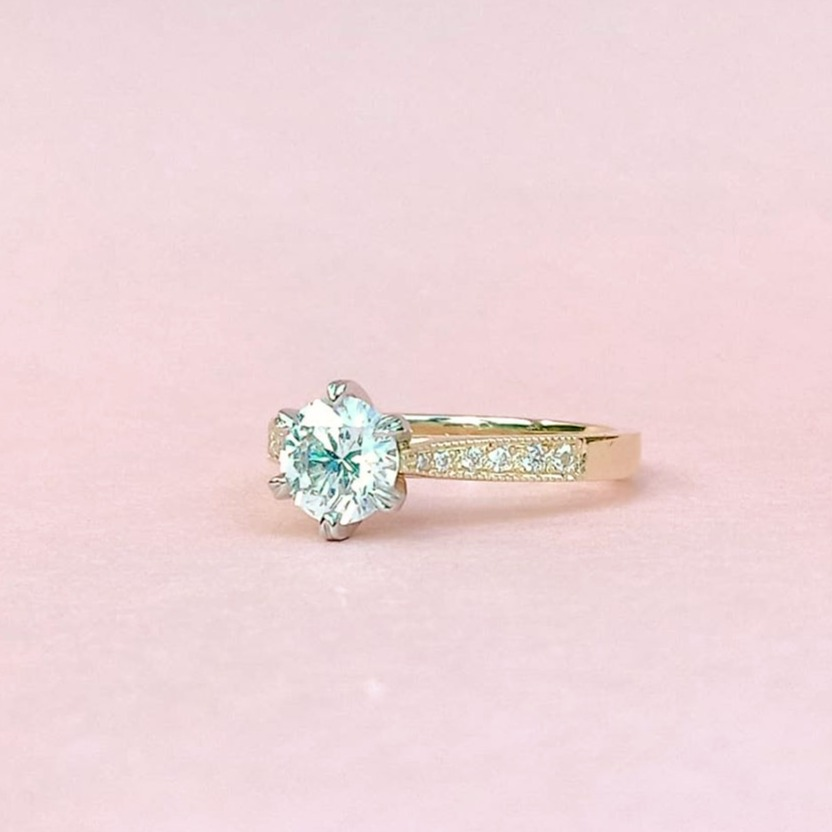 Elegance Diamond Engagement Ring