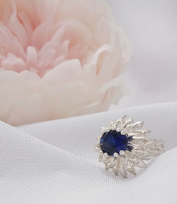 Festival with Sapphire coloured Cubic Zi