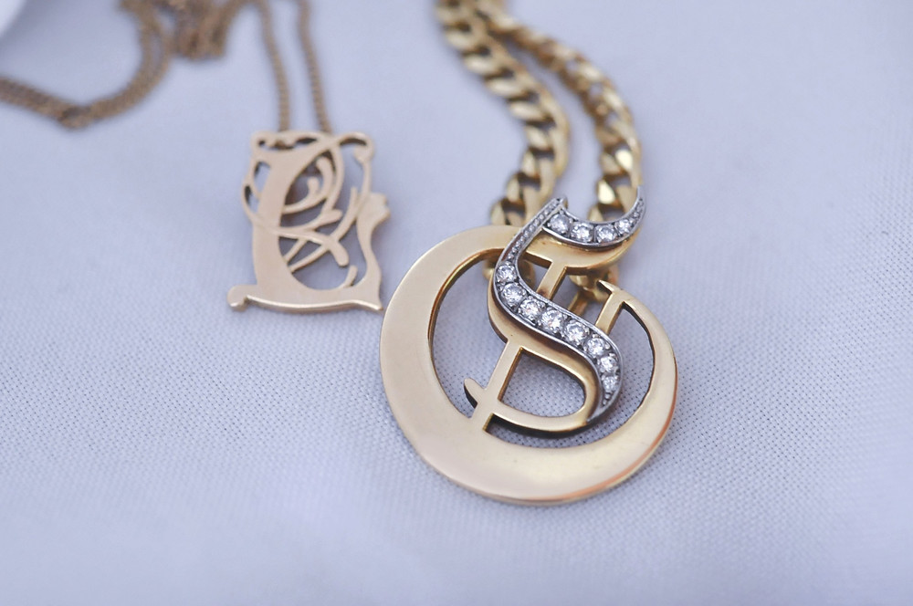 A simple custom-made pendant is stylish and can be personalised to suit your taste and budget.  These pendants are as unique as the person they were made for.