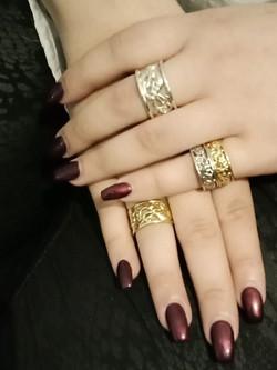 Lintal and Taranaki wide rings