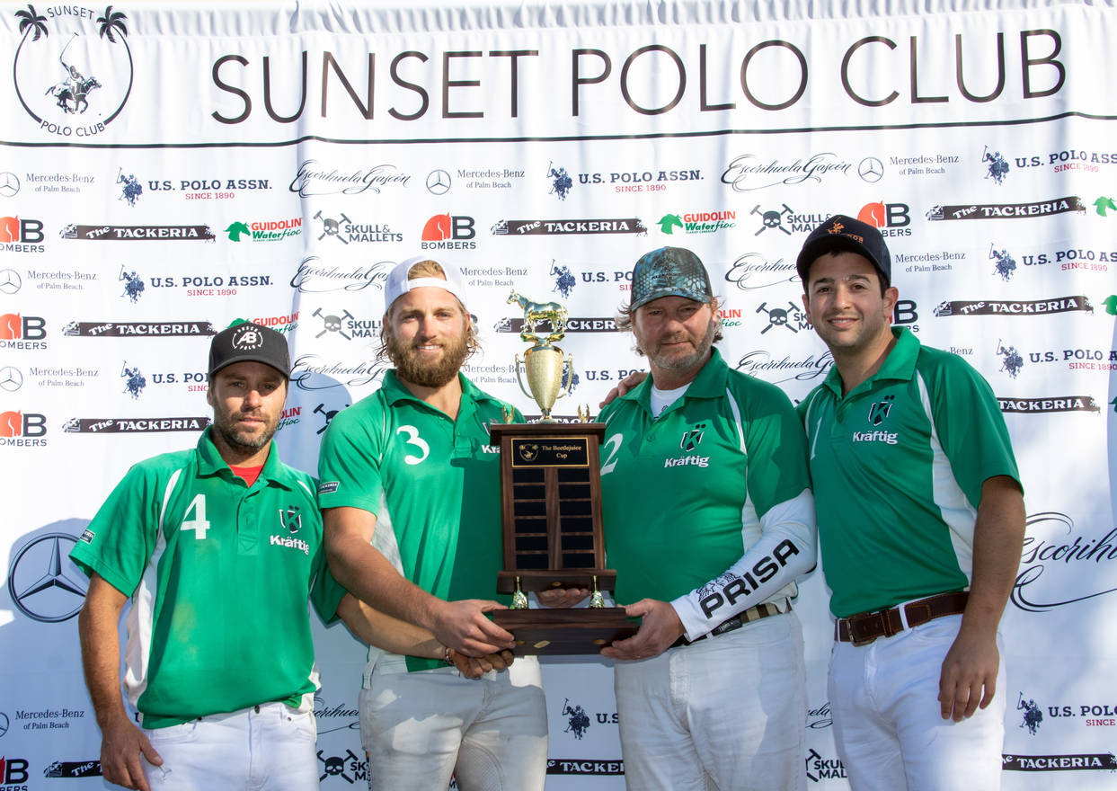 Estancia Polo Team winner of Beetlejuice Cup
