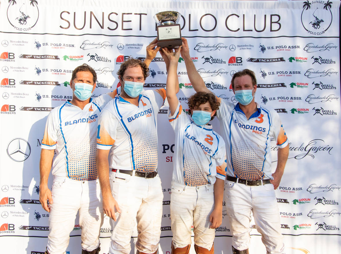 1ST PLACE BLANDINGS POLO TEAM