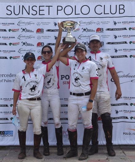 STAGE HILL POLO TEAM ON THE WINNING OF THE LOXAHATCHEE GROVES CUP 2021
