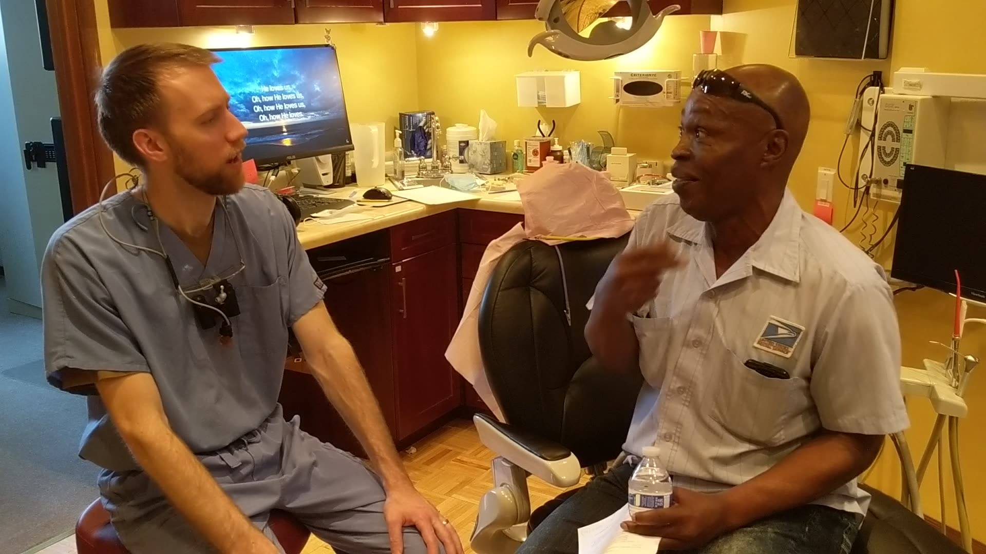 One of our patients wanted to share his story and experience after receiving his new  performed by Dr. David. Call our office to schedule your free implant consultation 708-383-9099 or visit us to learn more at Rfamilydental.net #minidentalimplants #