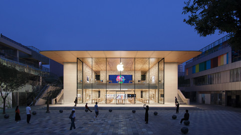 Apple inaugura su último Apple Store en Pekin - China