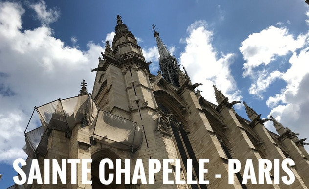 Santie-Chapelle   Paris