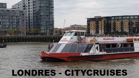 City Cruises | Crucero por el Tamesis | London
