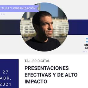 Workshop-Presentaciones efectivas y de alto impacto