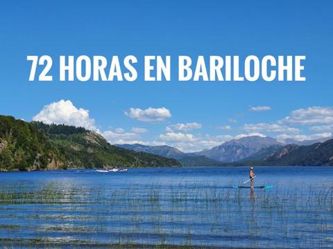 72 horas en Bariloche