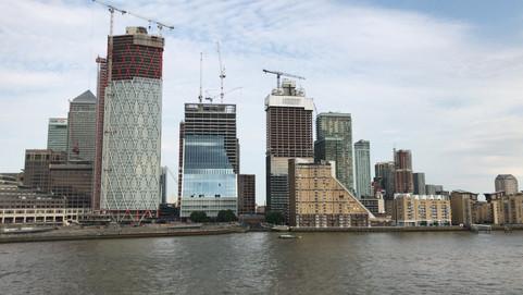 Recorrimos Canary Wharf | Londres
