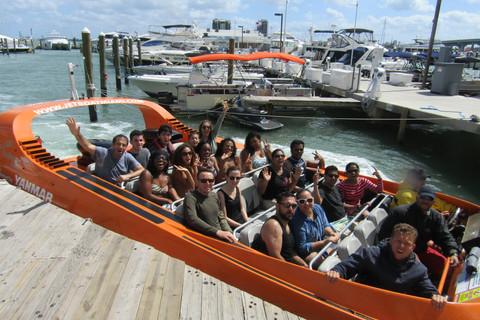 Jet Boat   Miami   Florida   USA