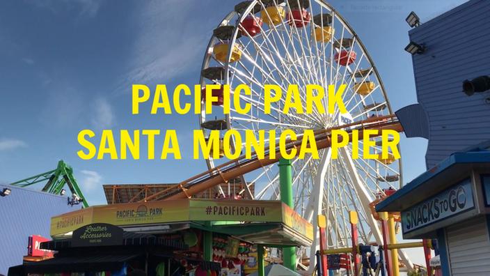 El famoso Pacific Park en Santa Mónica Pier