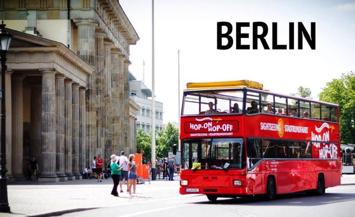 Red Buses | Hop-On Hop-Off | Berlin