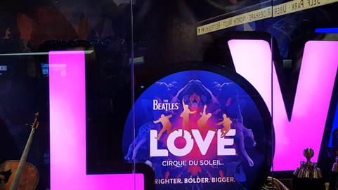The Beatles LOVE-Cirque du Soleil-Las Vegas
