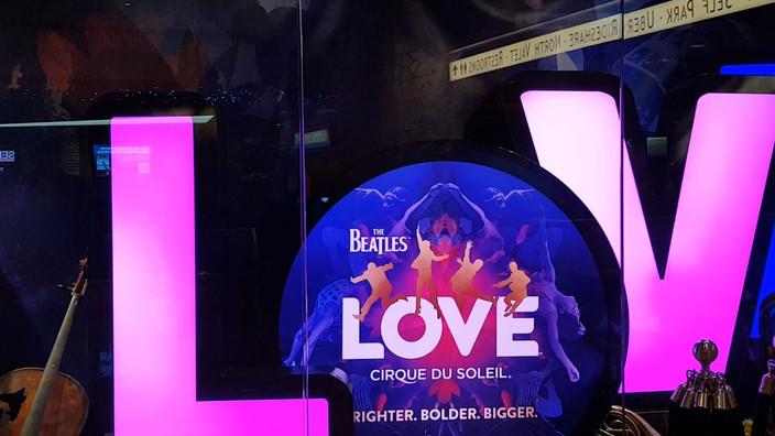 The Beatles LOVE-Cirque du Soleil-Las Vegas
