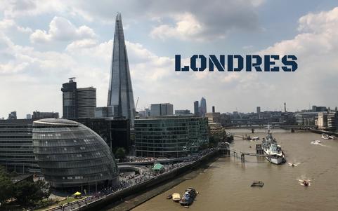 Así se ve Londres desde el agua...