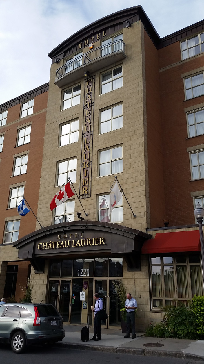 Quebec Hotel Chateau Laurier Canada