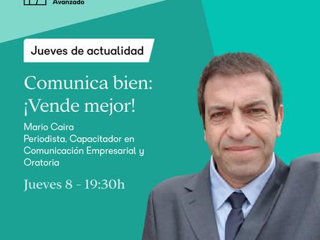 Workshop ORATORIA-      Comunica bien! Vende mejor!