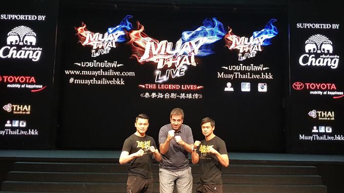 Muay Thai Live | Espectáculo en Bangkok | Tailandia