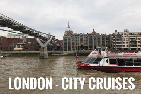 City Cruises | Crucero por el Támesis |  London