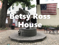 La histórica casa de Betsy Ross | Filadelfia