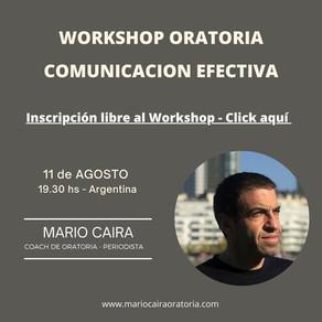 Workshop-Comunicación Efectiva
