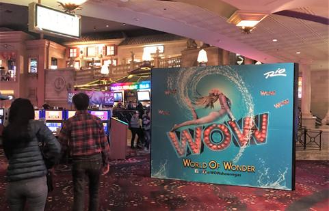 WOW el show del hotel Rio | Las Vegas