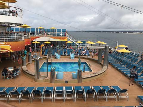 A bordo del crucero Costa Fascinosa