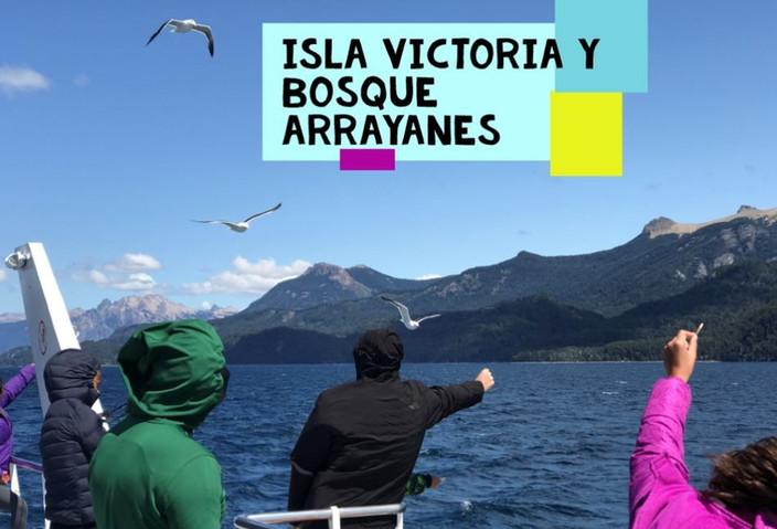 Navegamos el Nahuel Huapi a Isla Victoria y Bosque Arrayanes - Bariloche