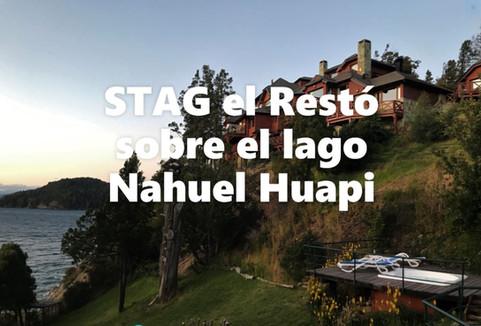 Stag un restó sobre el lago Nahuel Huapi -  Bariloche