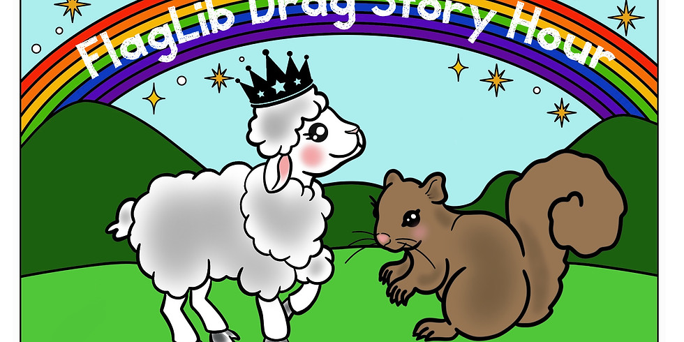 Flagstaff Library Drag Story Hour