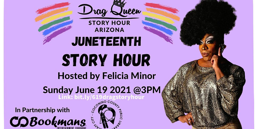 Felicia Minor presents: Juneteenth Story Hour 2021!