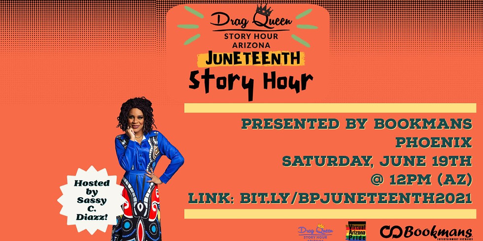Sassy C. Diazz presents: Juneteenth Story Hour 2021!