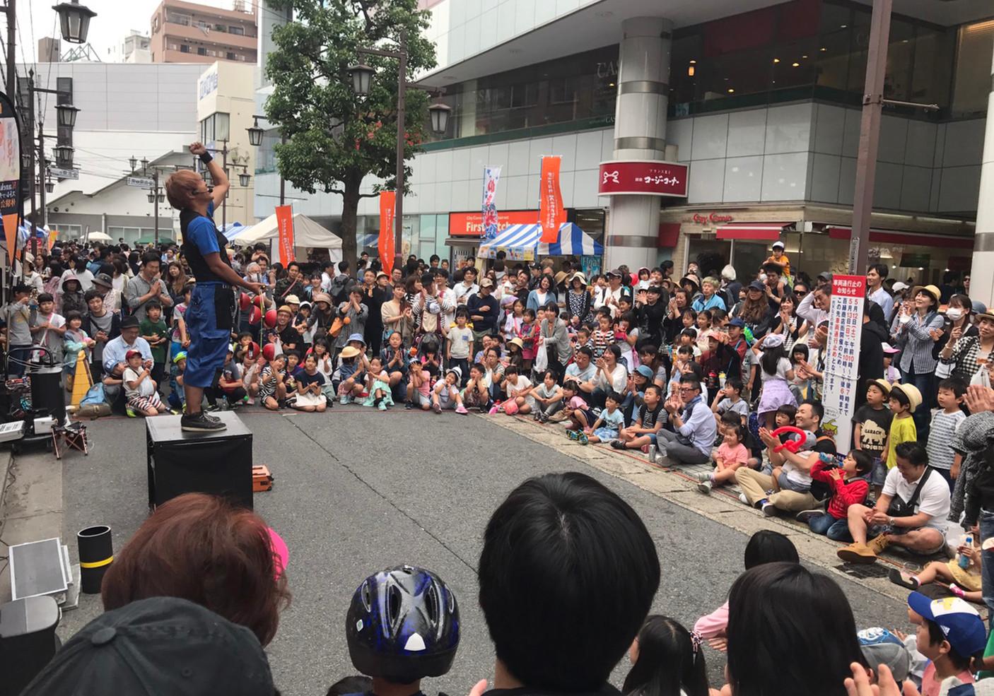 2018年5月12日 浦安百縁商店街