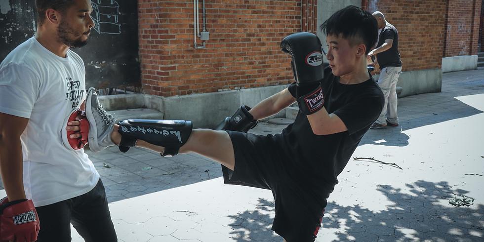 Kickboxing in the Park