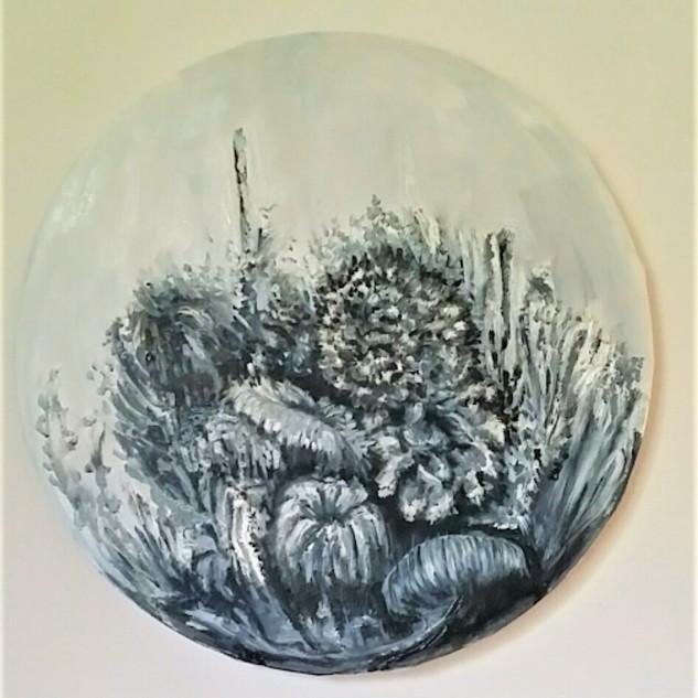 yael avni eshchar oil on canvas 30 cm 20