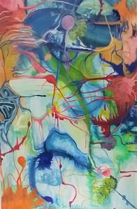 avni eshchar yael  oil on canvas- 60cm 2018