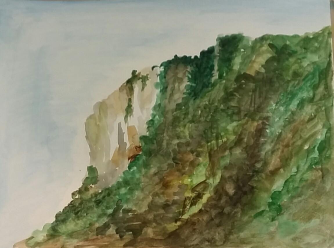 no101avni eshchar yael -watercolor on fi