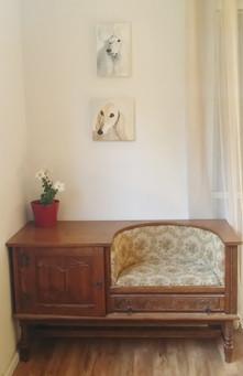 interiors  with yael avni eshchar painting